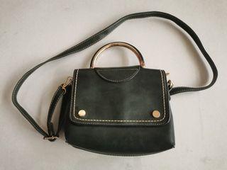 Vintage Jade Green Handbag