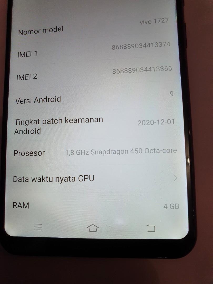 Vivo V9 4/64GB normal murah