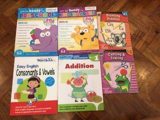 Activity Book Workbooks for Children Nursery, Pre-K to Kinder x Montessori x Educational x Learning