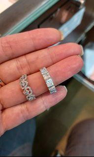 18K750 White Gold Diamond Ring