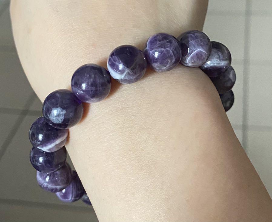 天然紫水晶手串 手珠 11咪