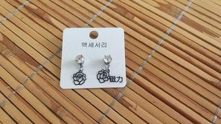 韓國磁力耳環 無穿洞