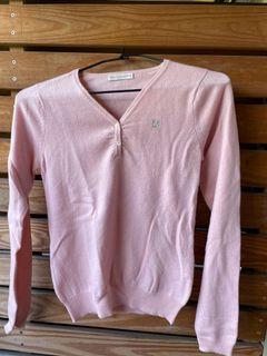 粉色 cashmere 長袖毛衣 金安德森 喀什米爾 羊絨