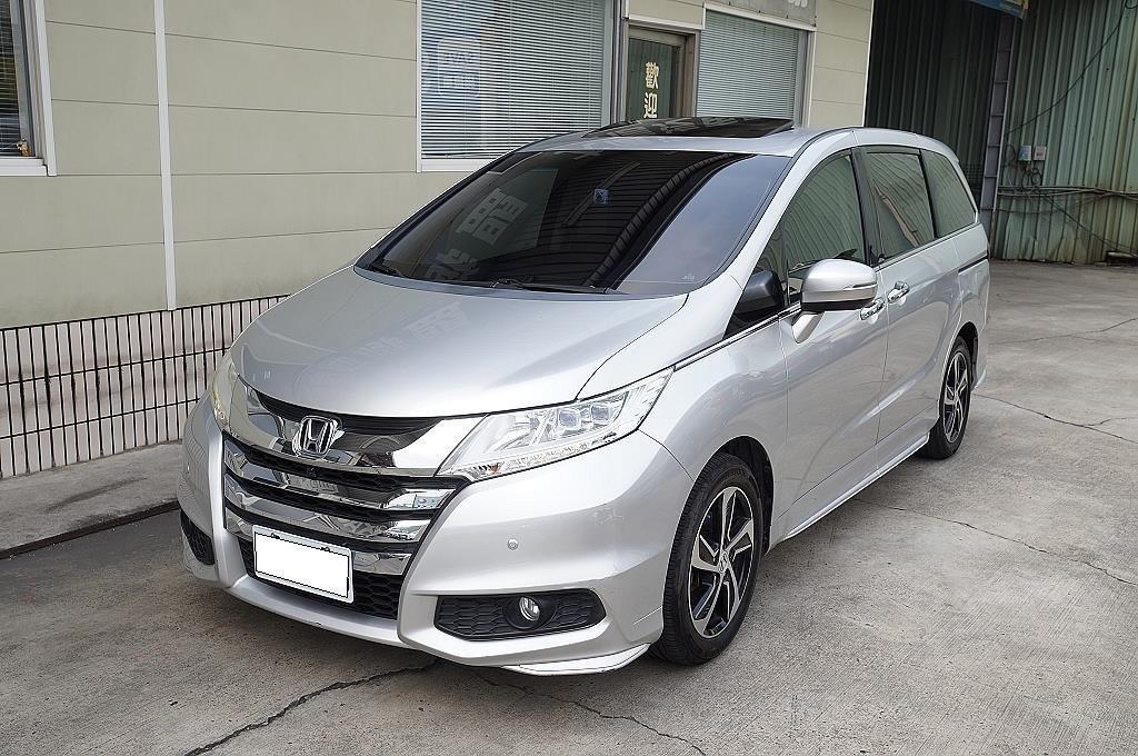 舜天車坊 Honda 2016 Odyssey 2.4L 頂規 七人座 原廠保養