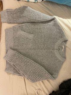 AMISSA 重磅 針織外套 寬鬆