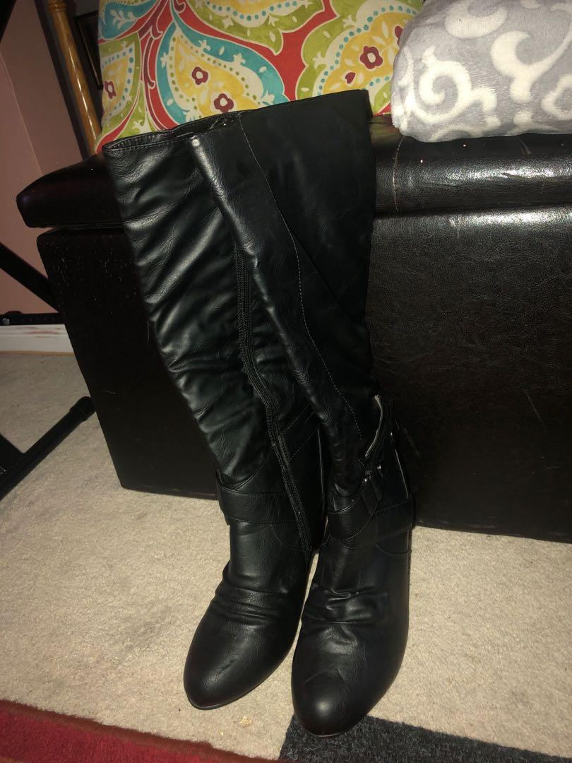 Black Women's Fall Boots