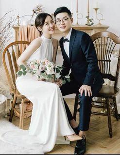 BNIB Gown for Wedding/ROM/Photoshoot