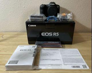 Brand new Canon Eos R5