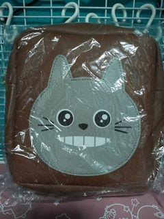Brown Grey Cat Sling Bag