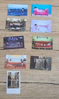 BTS-BE專輯小卡