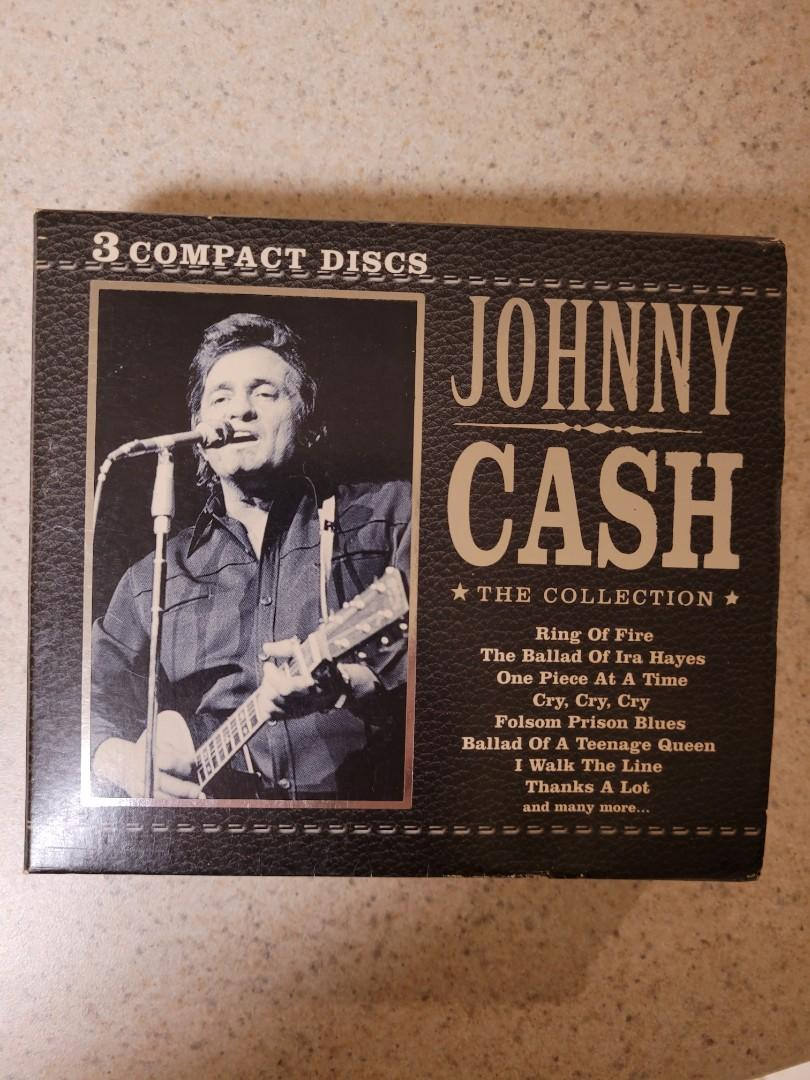Collectable Johnny Cash 3 CD Set Excellent condition