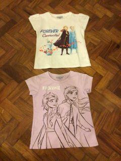 Disney Frozen Shirts 3-4yo