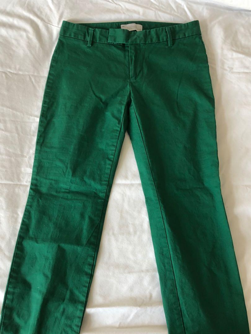 Green Gap pants