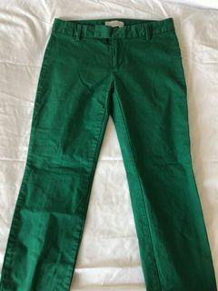 Green Gap pants