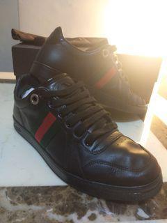 實體拍~3天大降價趕緊搶購GUCCI 古馳 經典紅綠織帶 球鞋  皮鞋
