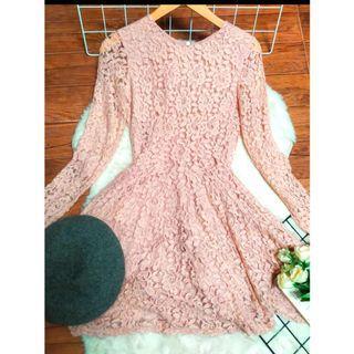 H&M Brocade Dress