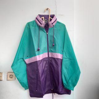 Multicolor Parachute Jacket
