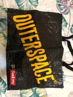 outerspace 潮牌購物袋 手提袋 環保袋