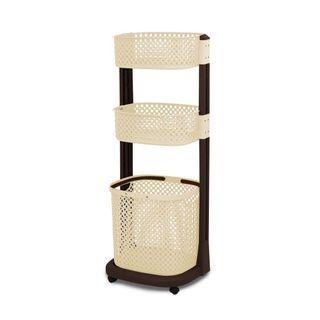 [PRELOVED like NEW] Rovega Laundry Basket Rak Keranjang Baju Kotor RLB-300