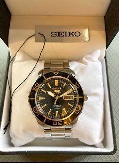 Seiko 5 Sports (Automatic) ( 💯 % Authentic)