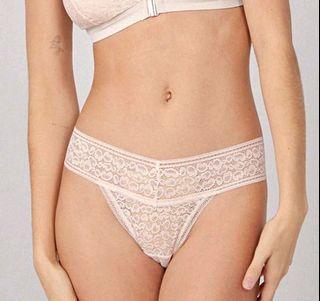 Shein Luvlette Elegant Lace Thong Panty