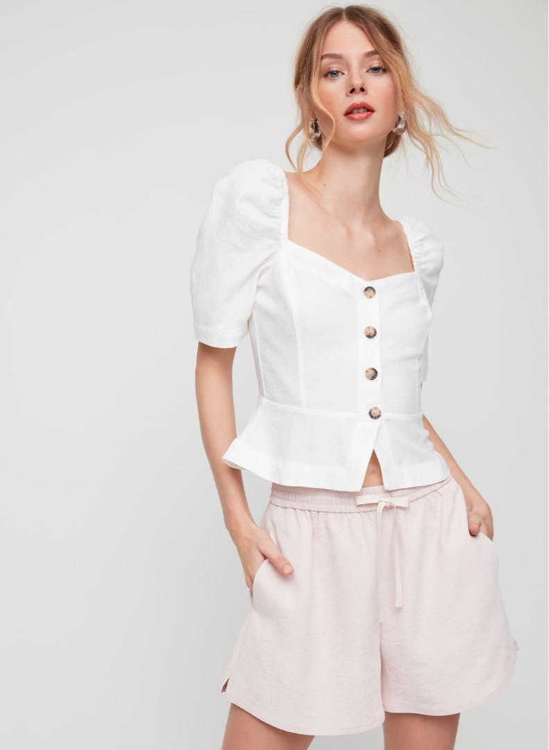 Wilfred Janine Linen Top - XS