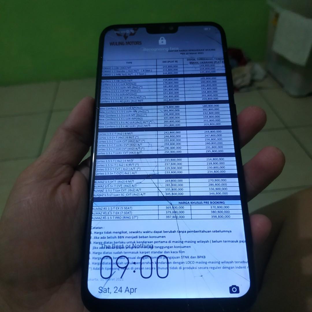 Xiaomi honor 8x second