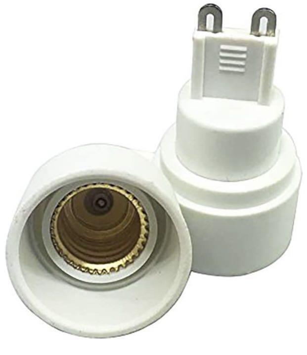 10pcs G9 to E14 Adapter
