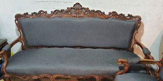 6pc Solid Narra Sofa Set
