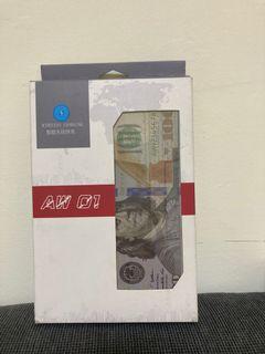 美鈔造型無線充電盤