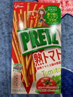 日本 2 pretz百力茲 沙拉風味 番茄風味 one piece