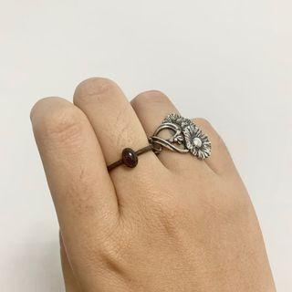 紅石榴 戒指