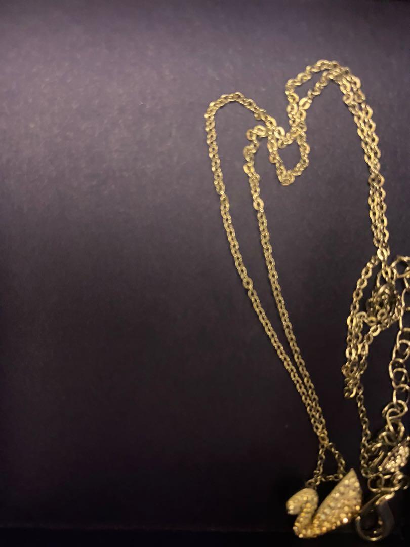 施華洛世奇 天鵝項鍊