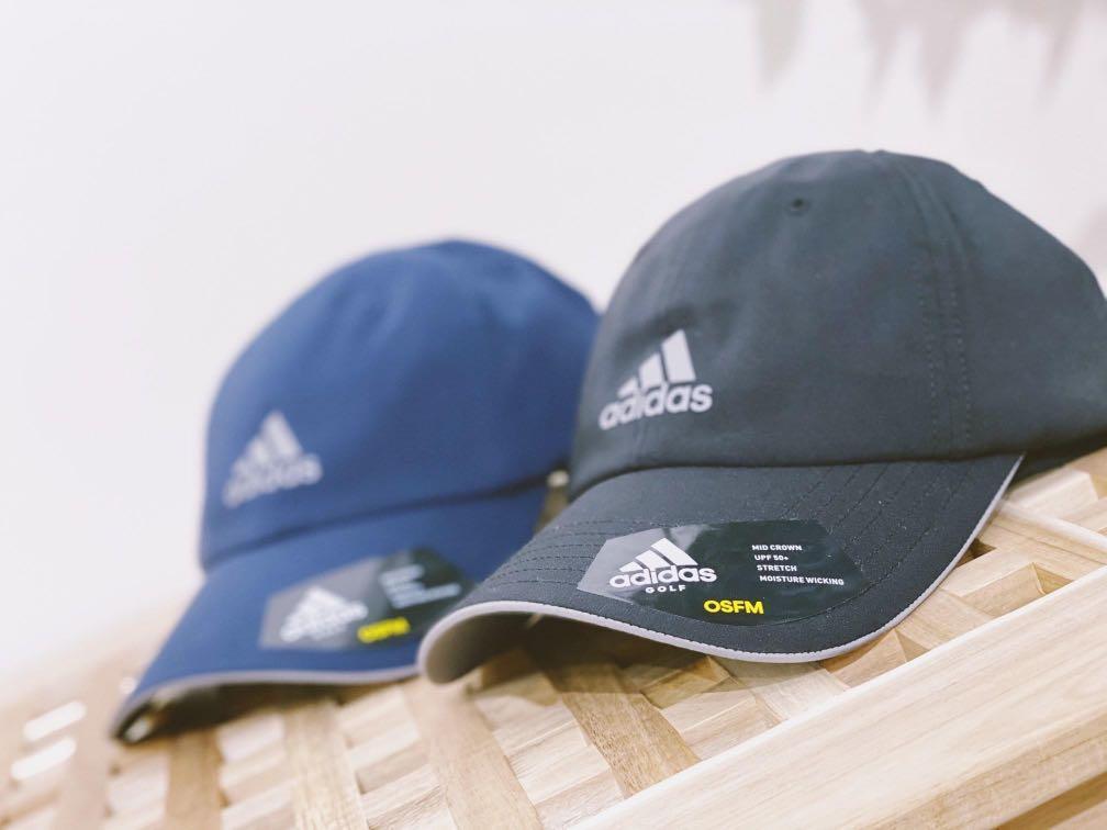 New 全新 adidas 老帽 黑色black