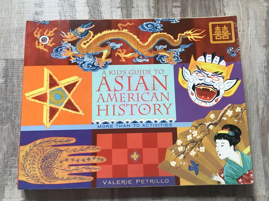 Asian American history 英文童書 亞洲文化