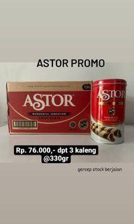 Astor grosir dpt 3 kaleng @330gr