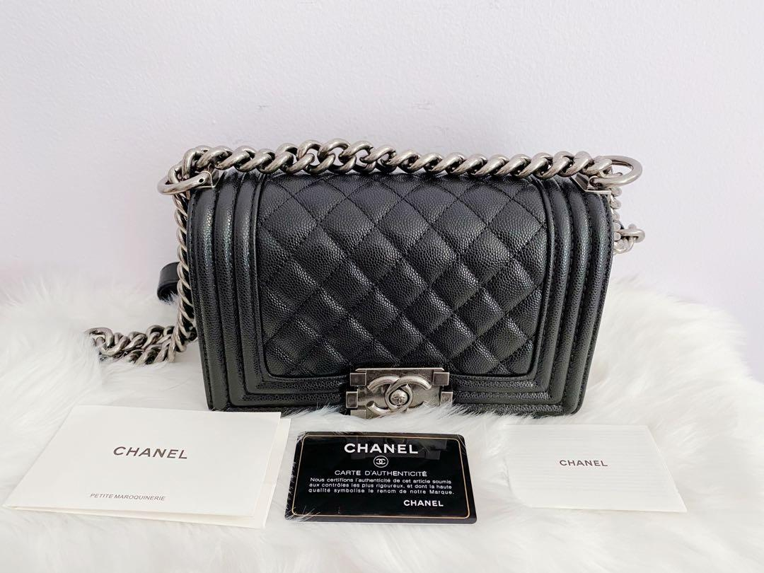 Authentic Chanel LeBoy small
