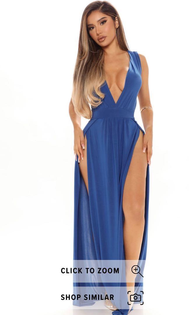 Blue maxi