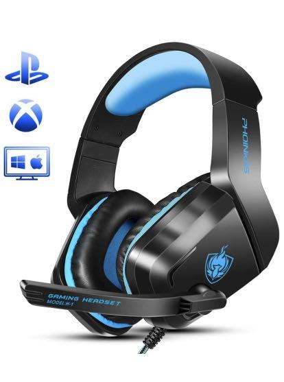 Brand new One Gaming Headset, H1 Wired Gaming Headset for PS4, PC, Laptop, Mac, iPad