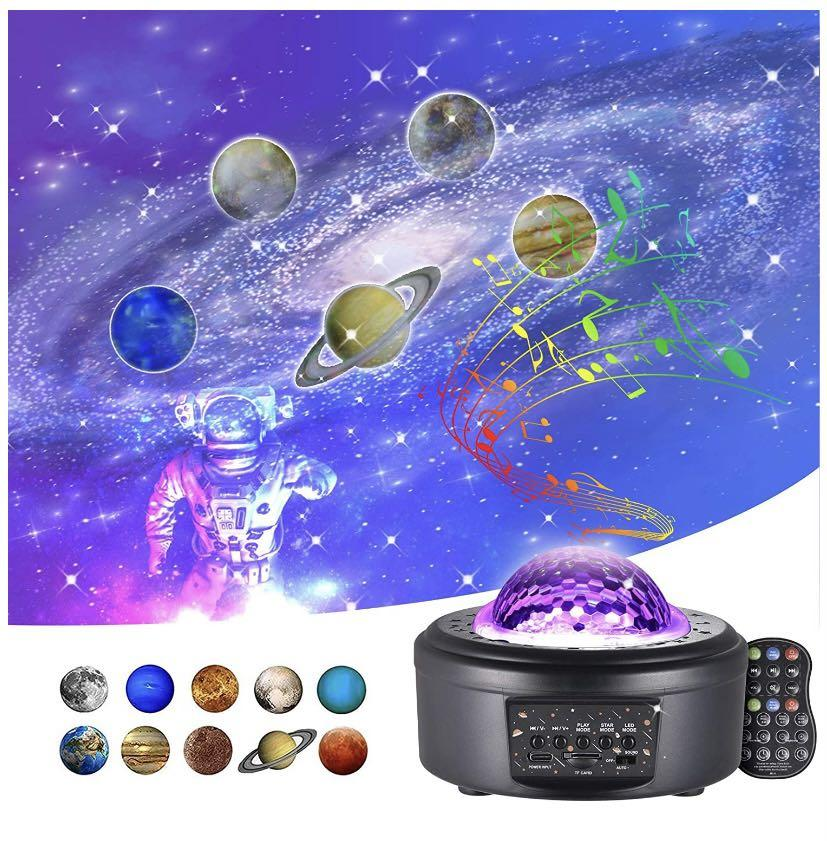 Brand new star Projector Light, Galaxy Projector with Bluetooth Music Speaker