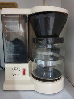 Breville Melitta 10 cup filter coffeemaker