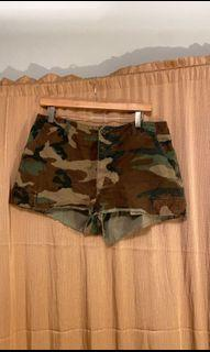 Camouflage Army Shorts
