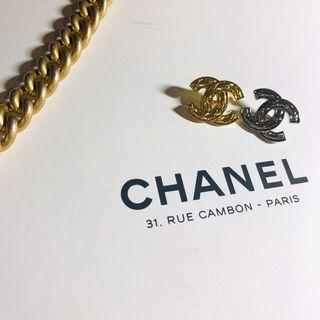 Chanel cc logo 菱格紋超搶手款式 2入組