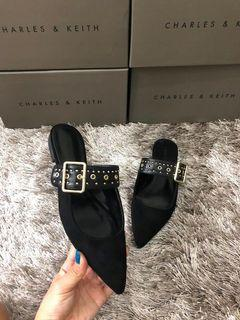 Charles&Keith - Belt Sloppers Mules
