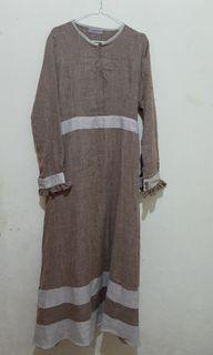 Gamis  mocca