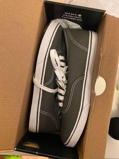 Grey vans