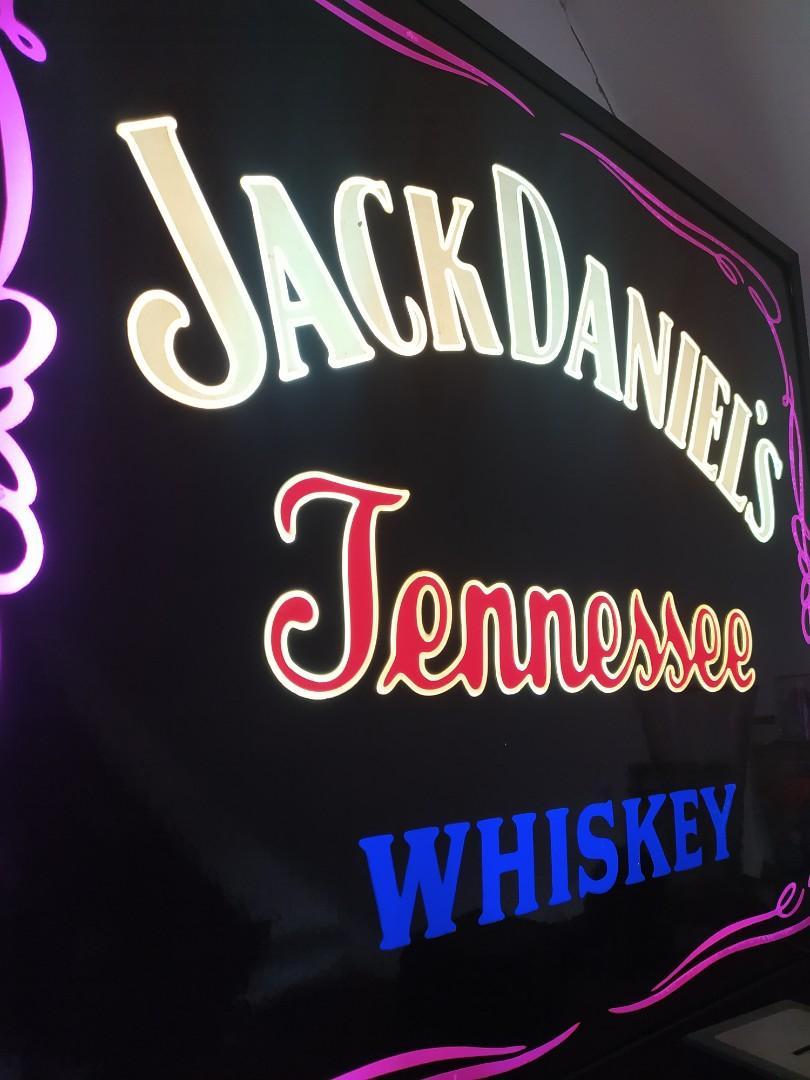 Jack Daniel's Bar signage