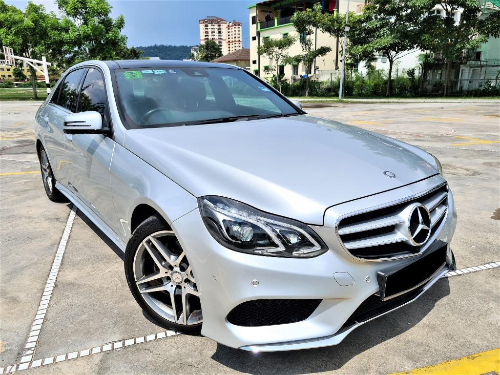 Mercedes-Benz E300 2.1 BlueTEC Sedan [60k km][full service record][car king][one owner]