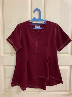 MUSSE OFFICIAL MAROON TOP