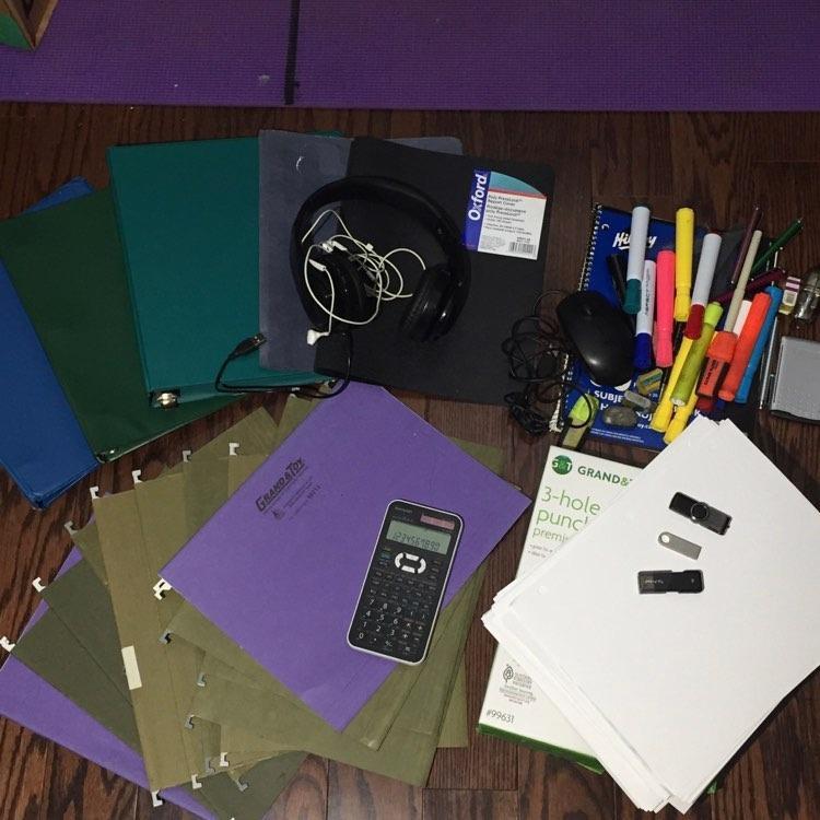 old school office supplies